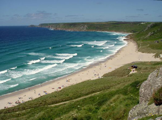 Whitesand Bay, Sennen Cove beach